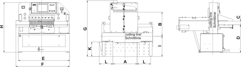 Schneider E-Line Serisi  - Kağıt kesim - Mitra.com.tr | 0212 347 47 40